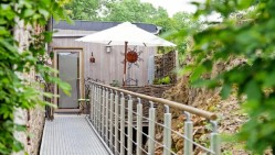 """Terrasse du gîte """"Une Envie D'Ailleurs"""""""