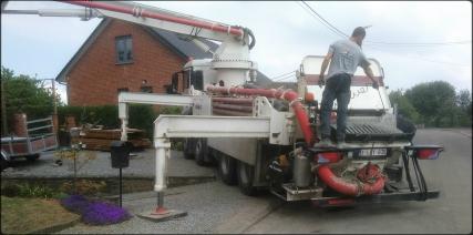 Camion de chantier
