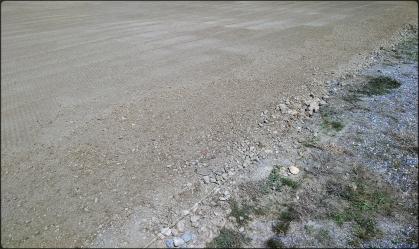 Aplanissement d'un terrain